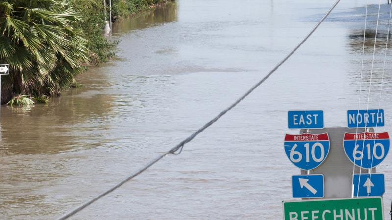 Texas pounded again by heavy rain