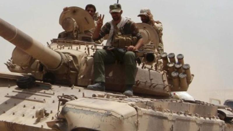 Iraqis gear up for Ramadi counterstrike