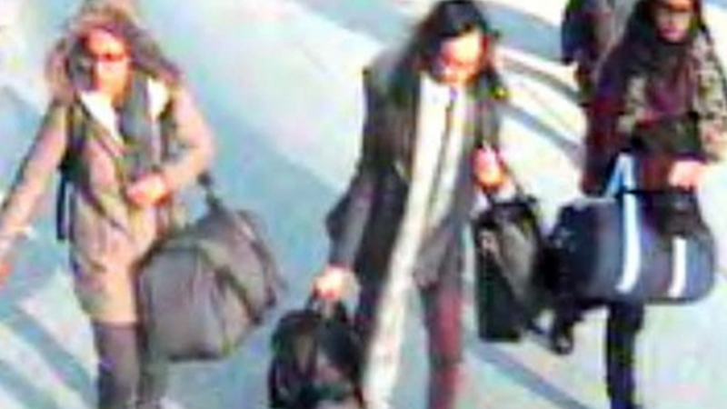 UK schoolgirls lured to Syria by IS phone home