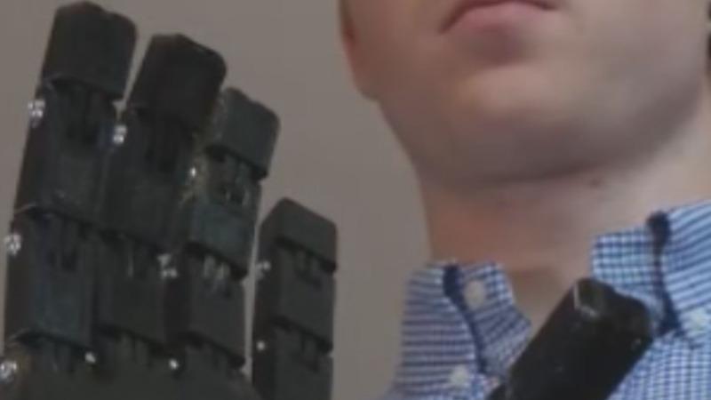 3D printing cuts cost of robotic arm