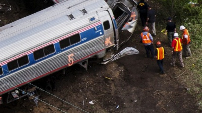 Amtrak, NTSB, testify on Philadephia crash