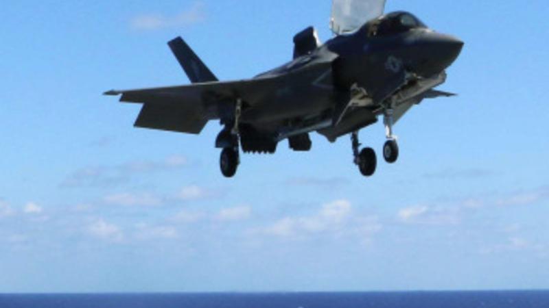 $391 billion fighter jet debuts