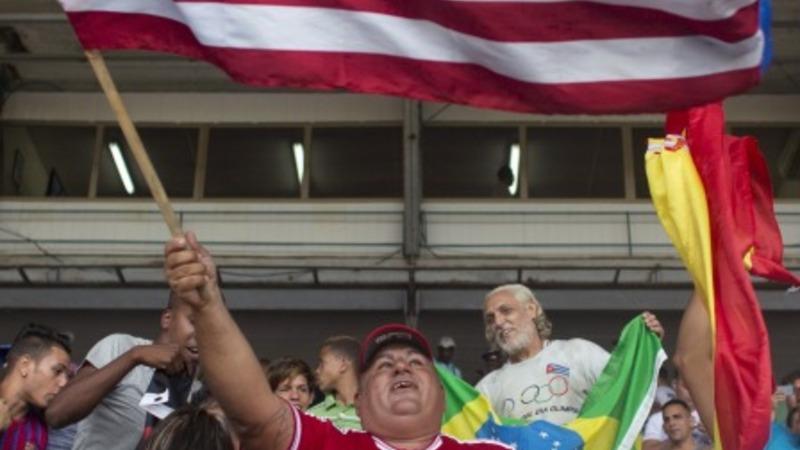 U.S., Cuba play first soccer match since 1978