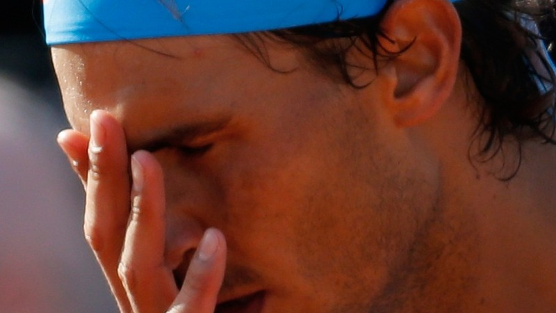 Nadal notches rare loss at French Open