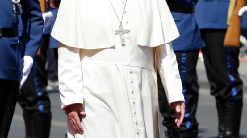 Pope urges harmony in Sarajevo