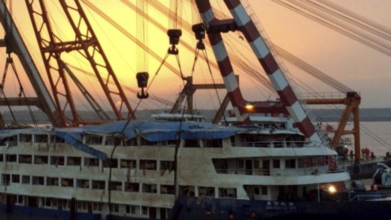 China ship disaster company says sorry