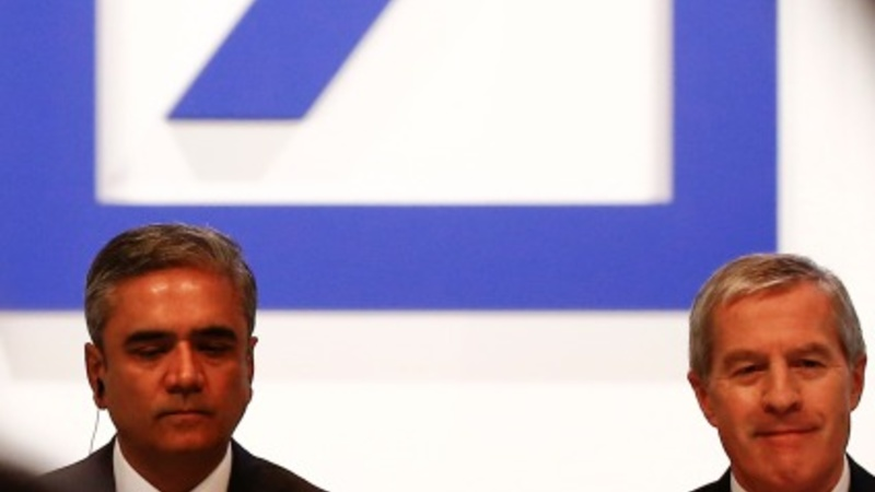 Deutsche Bank co-chief executives resign