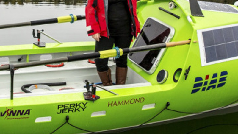 Female rower attempts to cross Pacific Ocean