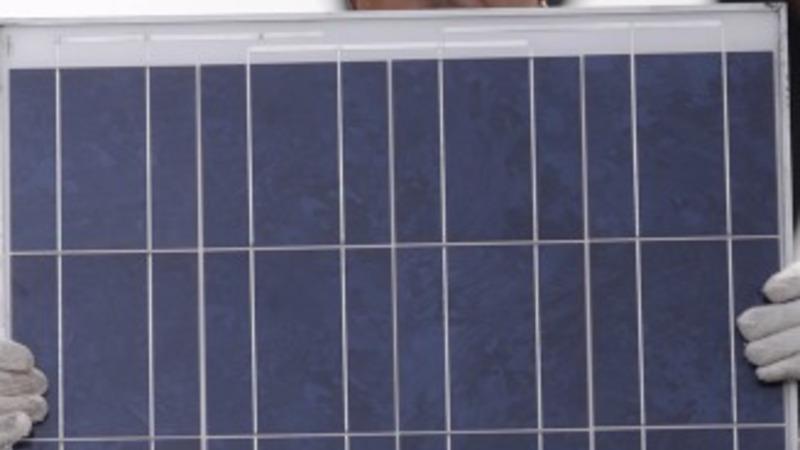 Solar panel production solution: prison labor