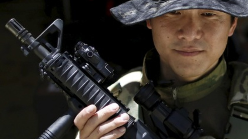 A more hawkish Japan embraces airsoft