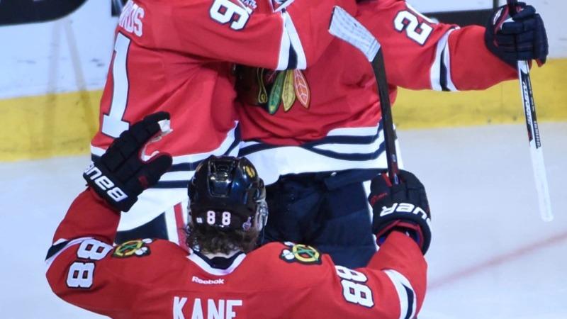 Blackhawks' 2-1 win ties Stanley Cup finals
