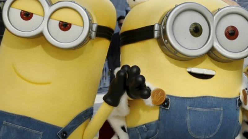 London rolls yellow carpet for Minions premiere