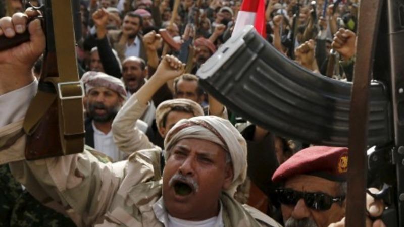 Protest ahead of Yemen peace talks