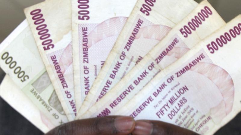 Inflation kills Zimbabwe dollar