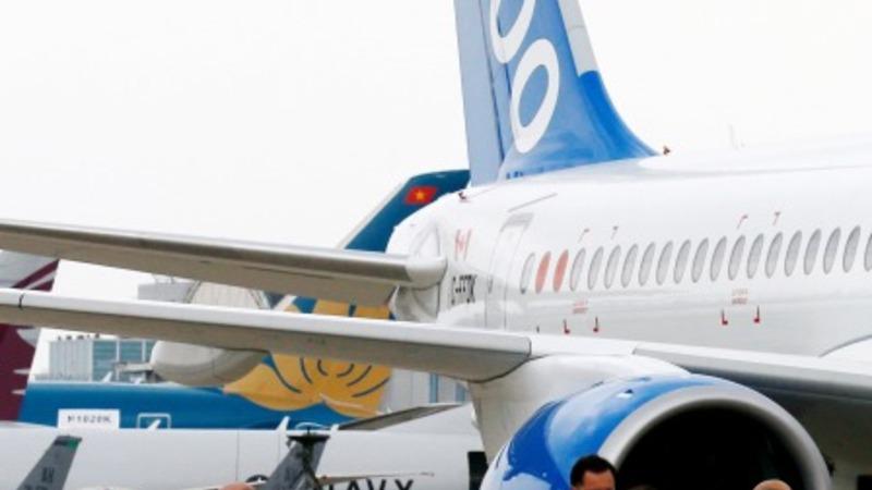 Bombardier CSeries debuts at Paris Air Show