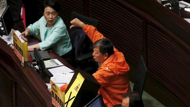 Hong Kong rejects Beijing's election roadmap
