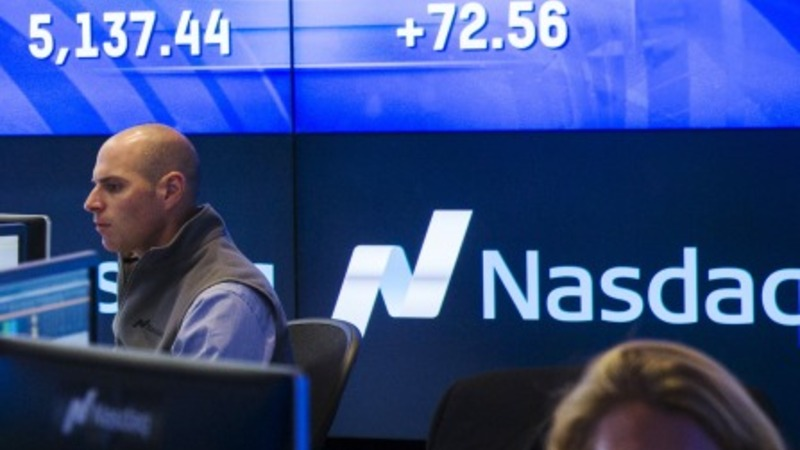 Nasdaq marks record close