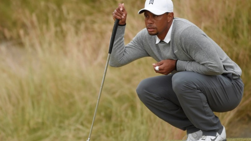 Tiger Woods cut from U.S. Open