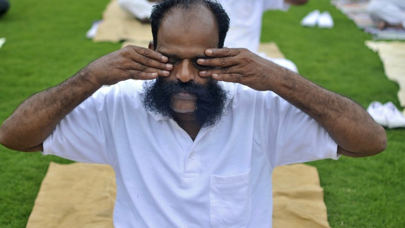 India's yoga mantra jangles nerves back home