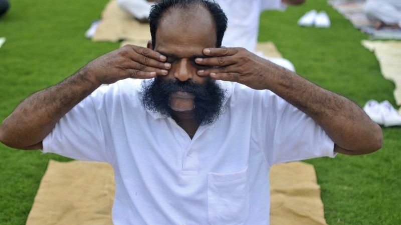 India's yoga mantra jangles nerves back home