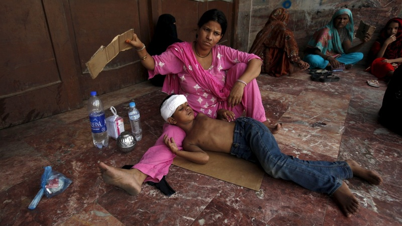More than 400 dead in Pakistan heat wave