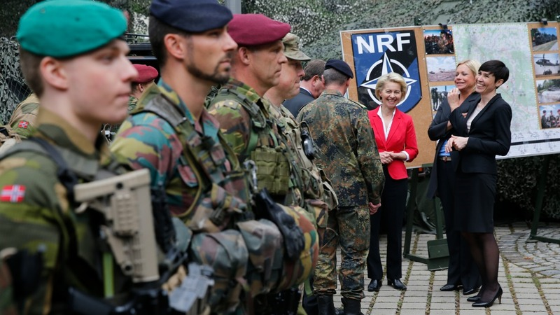 NATO tackles Ukraine and security in Brussels