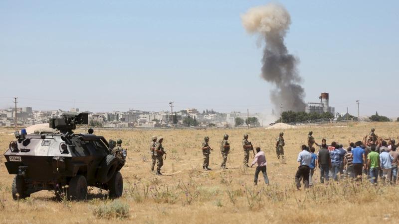 ISIS attacks Kobani after losing ground to Kurds