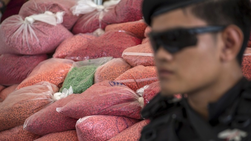 Thailand burns seven tons of illegal drugs