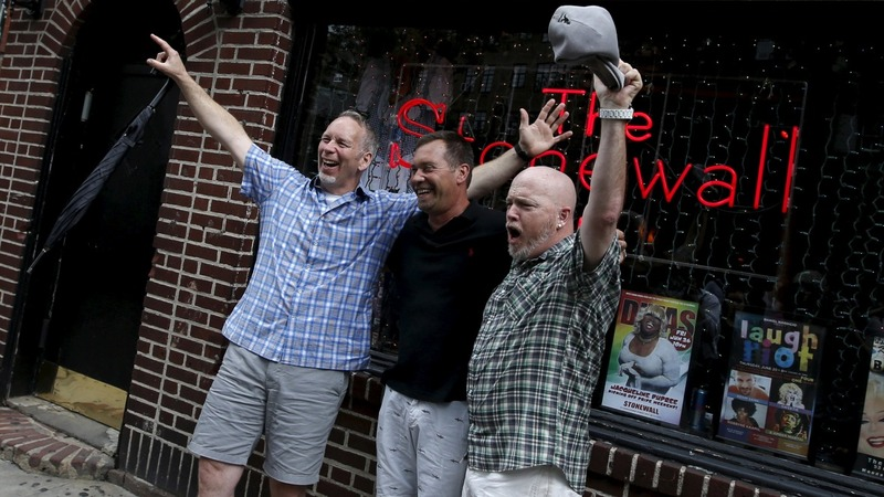 Court decision draws celebrants to Stonewall
