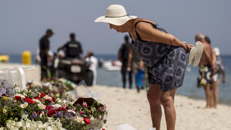 A shaken Tunisia tries to move past grief