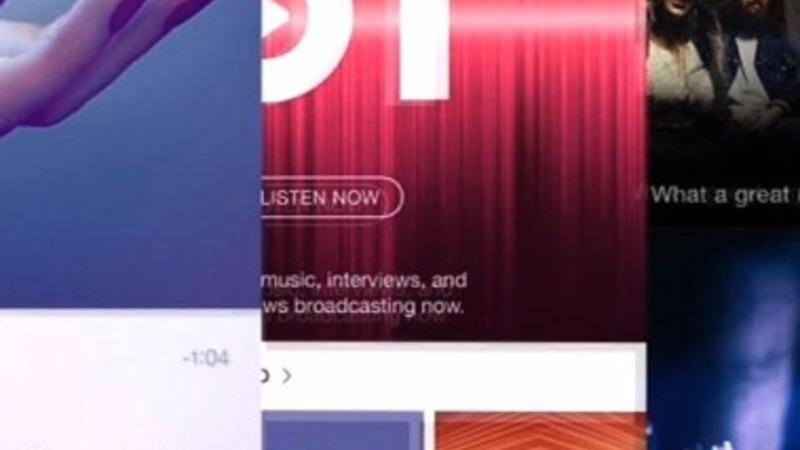 Apple music hits app store