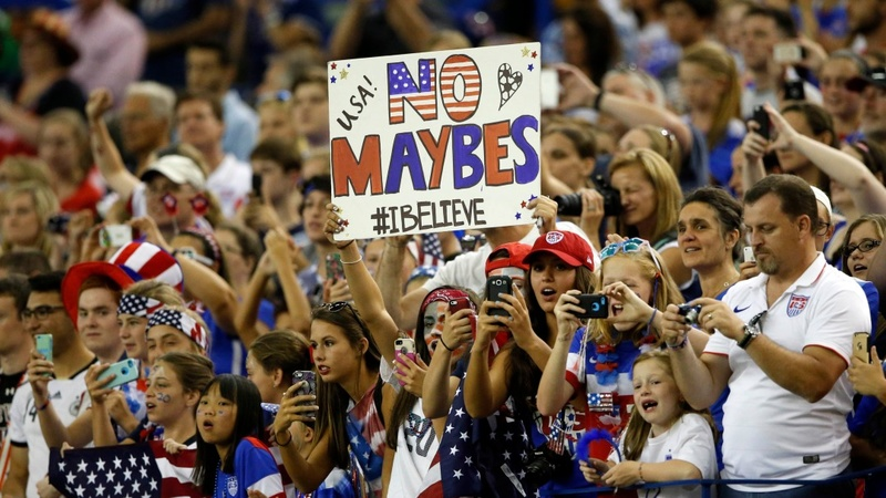 U.S. reaches World Cup final