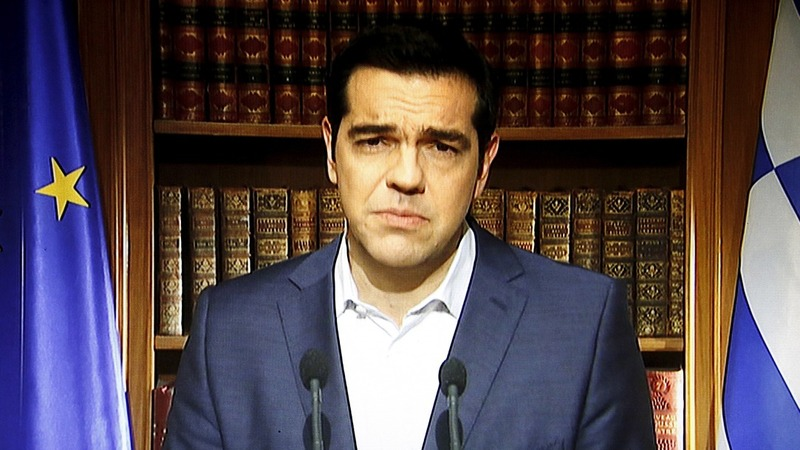 Tsipras urges Greeks to reject bailout