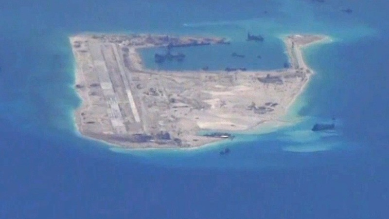 China's Spratly Islands airstrip nearly ready