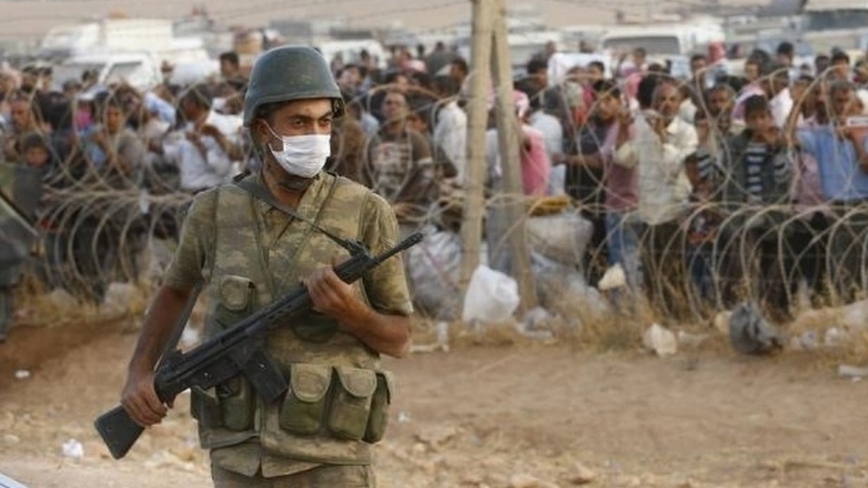 Turkey reinforces Syria border