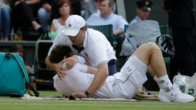 WIMBLEDON: Murray on medical time-outs