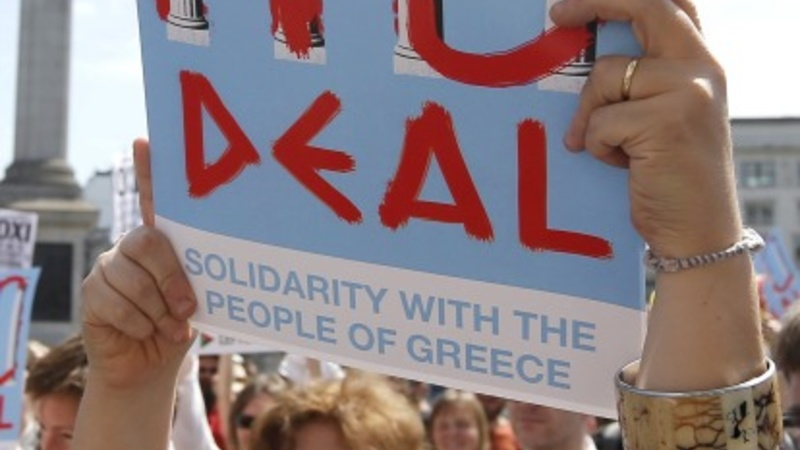 Greeks cheer 'No' vote, wait for what's next