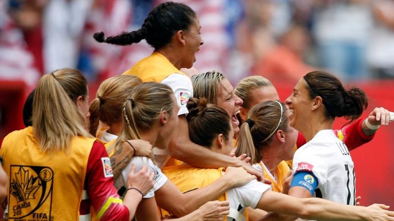 U.S. women thrash Japan in World Cup final