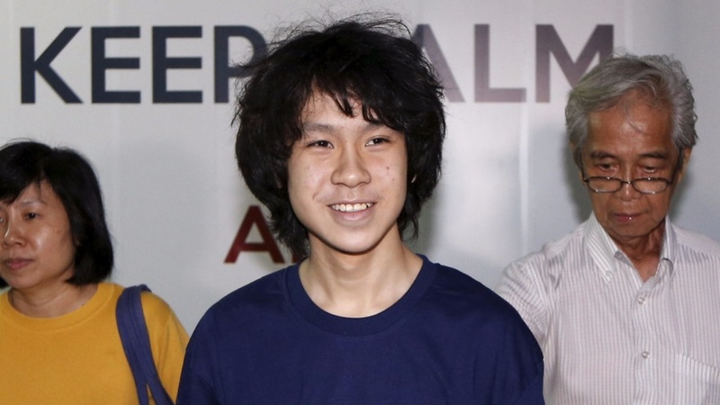 16-year-old Singapore blogger to walk free