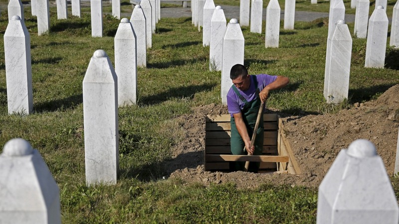 Srebrenica massacre marked across UK
