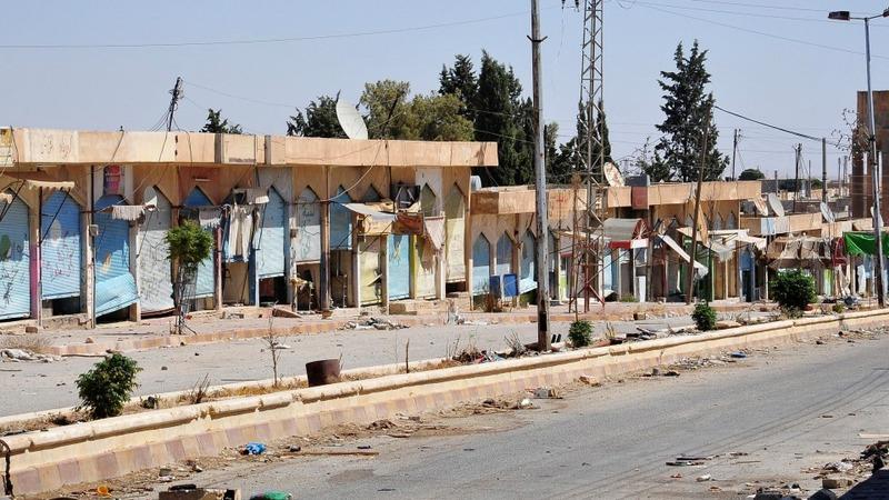 IS regain Syrian town north of Raqqa