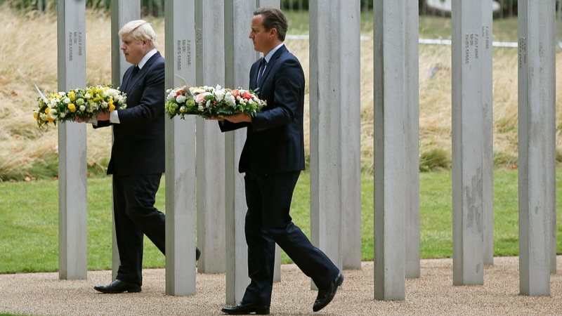 UK falls silent to mark 7/7