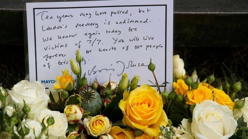 Marking ten years since 7/7 bombings