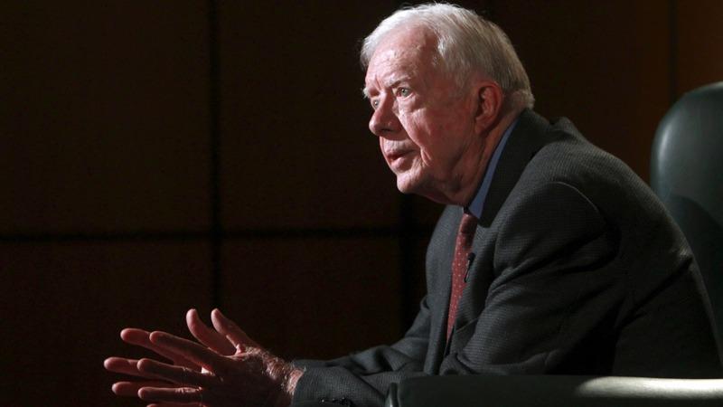 VERBATIM: Jimmy Carter grim on Mideast peace