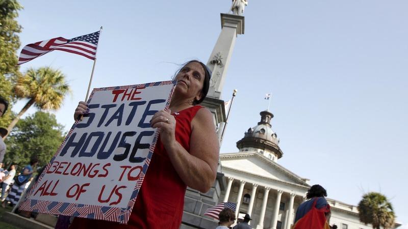 VERBATIM: Lawmakers react to 'rebel' flag vote