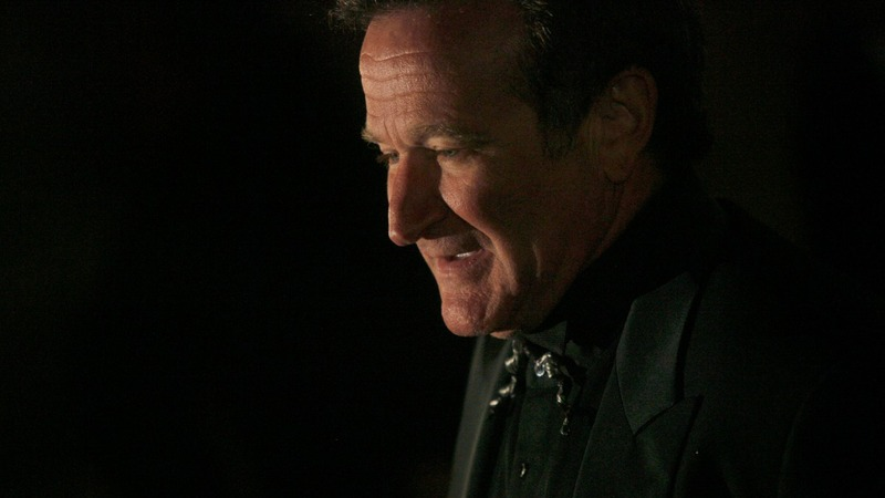 Robin Williams's somber final act in theaters