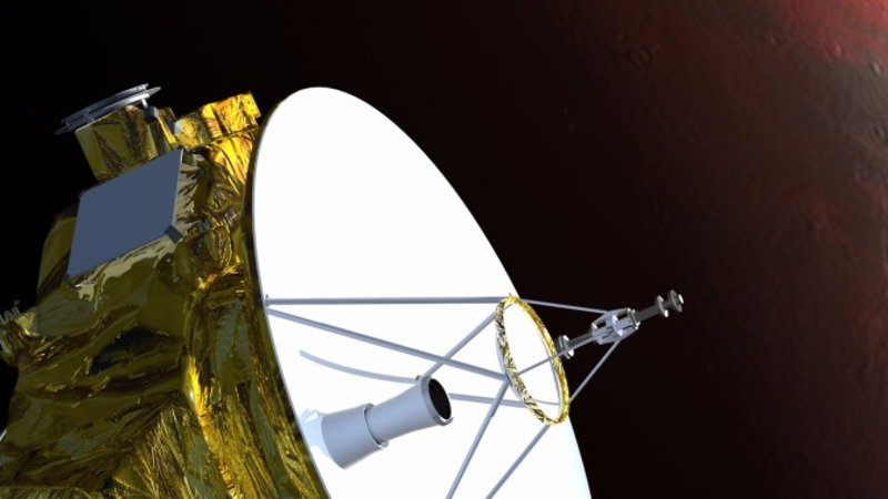NASA's first probe to visit Pluto