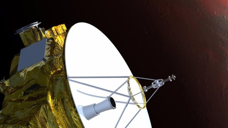 NASA's first probe to visit Pluto