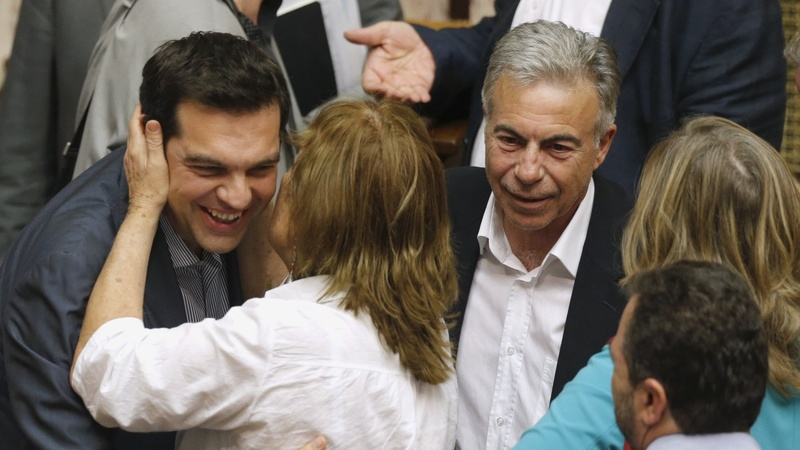 Greek parliament approves bailout plan