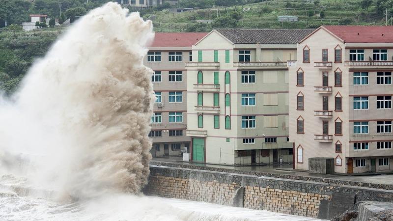 Super typhoon strikes China